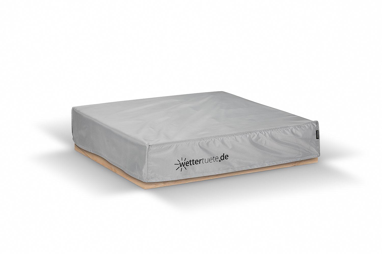 sandkastenabdeckung 125x125x25 cm schutzh lle. Black Bedroom Furniture Sets. Home Design Ideas