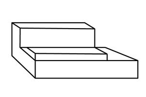 Loungeelement mit Rückenhöhe auf Maß fertigung. Lounge abdecken