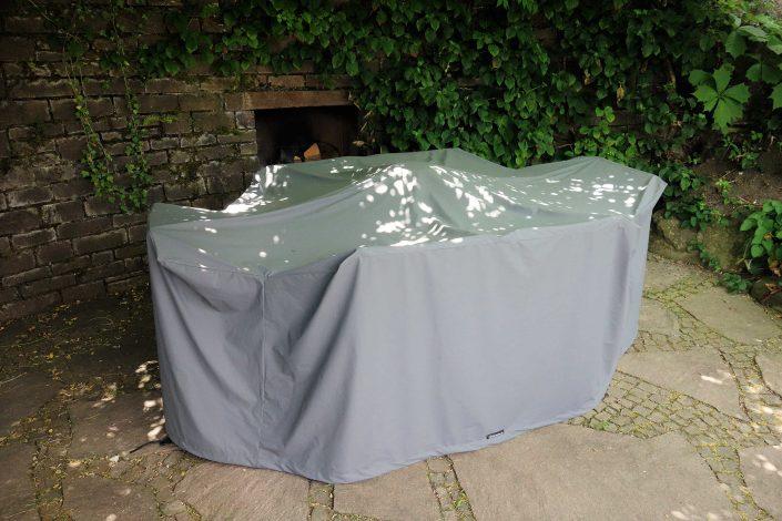 Gartenmöbel schutzhüllen maßanfertigung hellgrau
