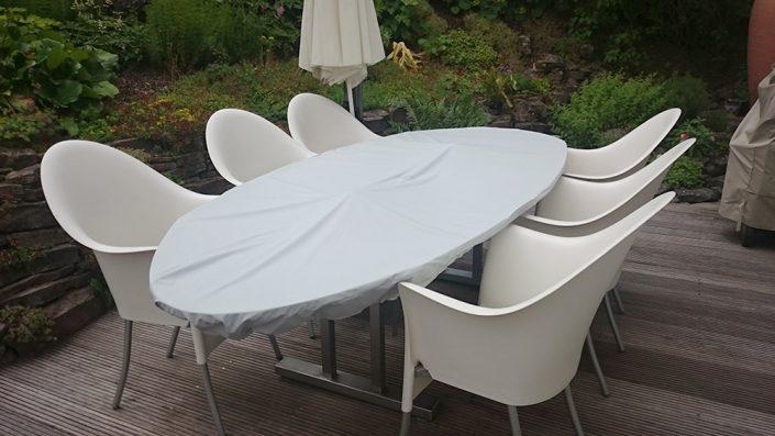 Tischplattenschutzhülle