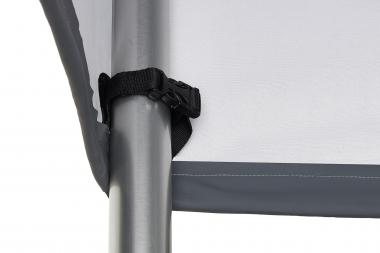 Alle Schutzhüllen werden mit Schlaufen und Steckschnallenverschlüssen in allen Ecken ausgestattet. Diese können einfach am Möbelstück fixiert werden
