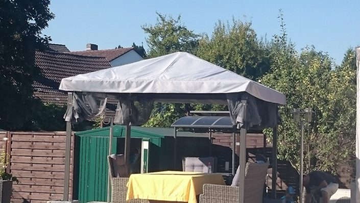pavillonabdeckung sonnenschutz ma anfertigung. Black Bedroom Furniture Sets. Home Design Ideas