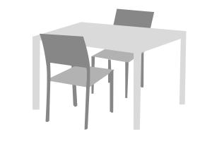 Abdeckplanen Tischgruppe, Tischabdeckungen