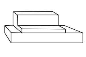 Loungeabdeckhaube Maßanfertigung. Skizzenvorlage zum Download für wasserdichte und winterfeste Schutzhülle nach Maß