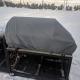 Outdoorküchenabdeckung ohne Schwitzwasser obwohl durchgängiger Schnee und Regen
