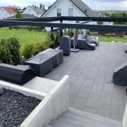 Terrassenmöbel abdecken