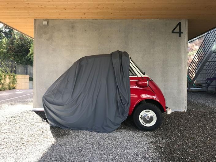 BMW Isetta Abdeckung Schutzhülle Garage