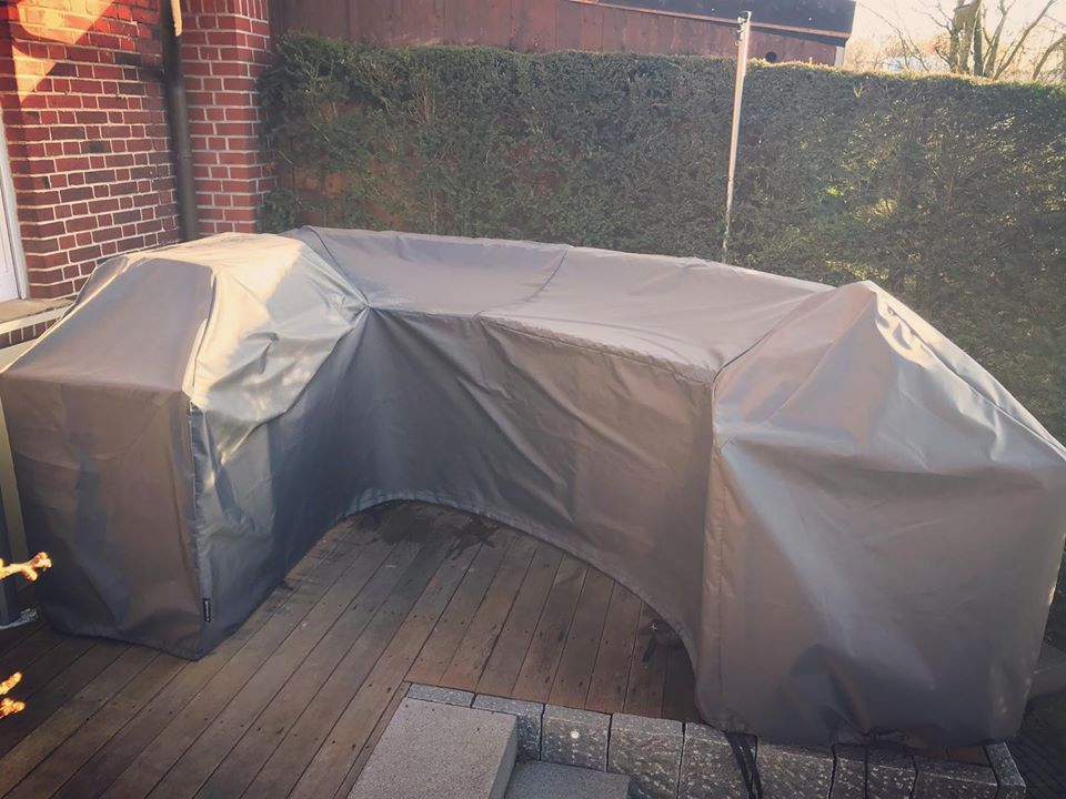 outdoorkuechenabdeckung, Schutzhülle Außenküche, Abdeckung Küche, BBQ Cover